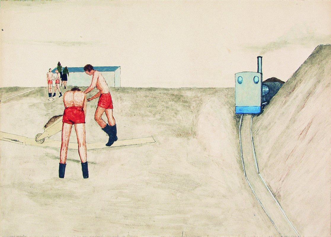 Kolejka wąskotorowa 1948