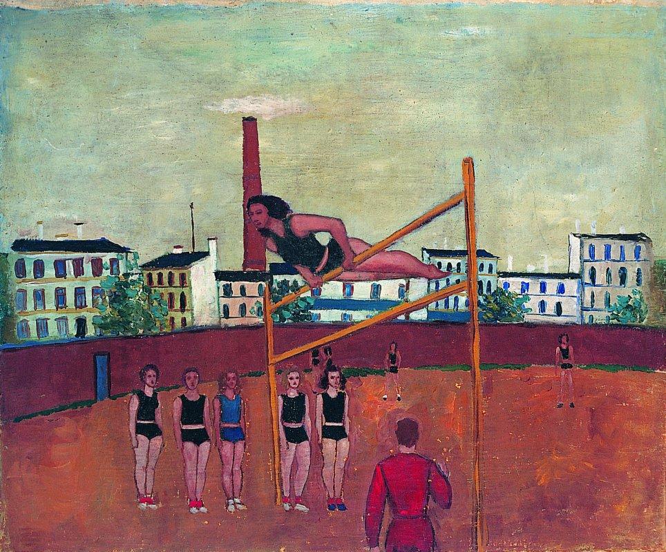 Gimnastyczki 1952