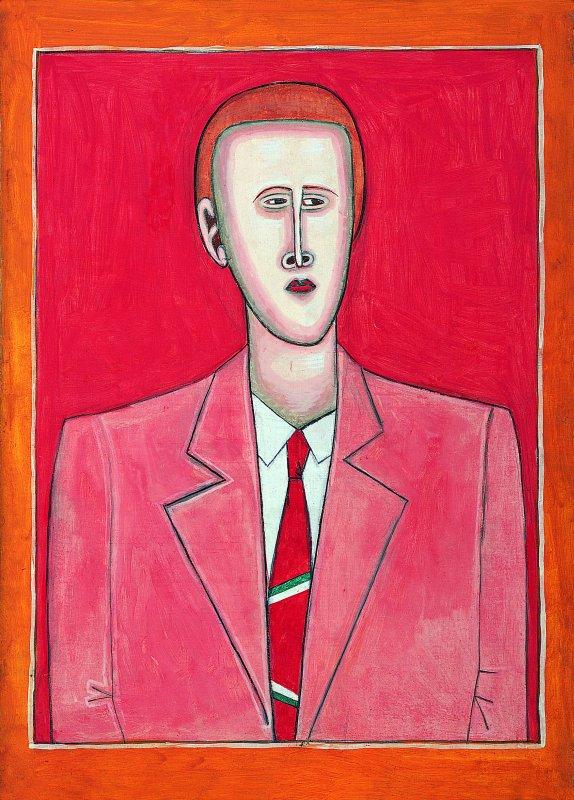 Portret mężczyzny 1953