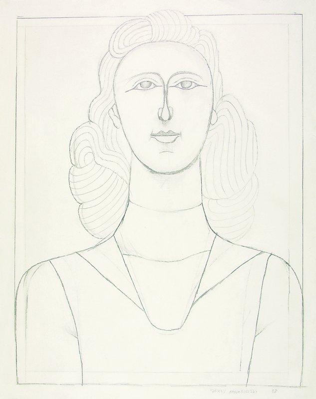 Portret kobiety 1953