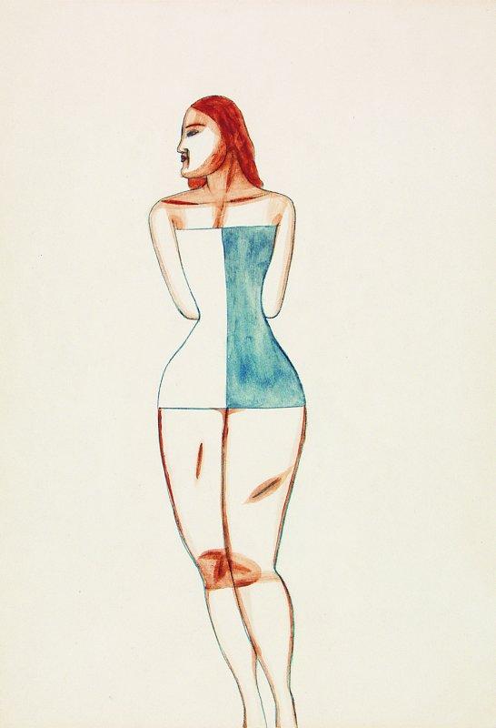 Postać kobiety 1955
