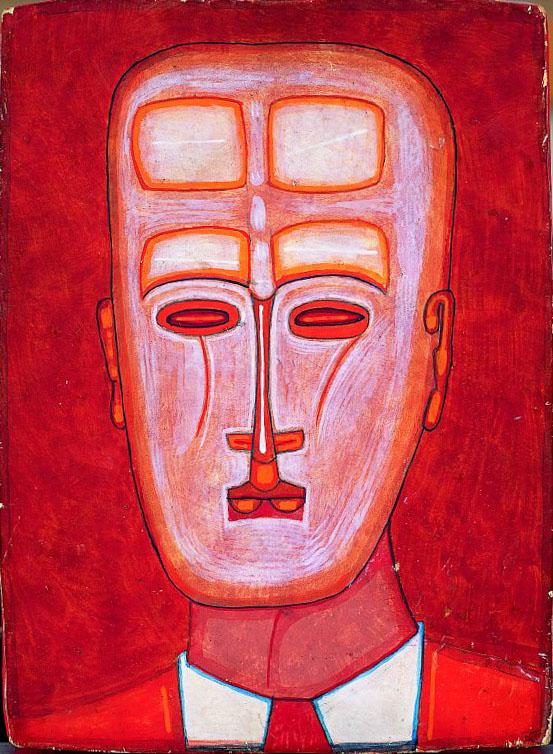 Portret clowna 1961