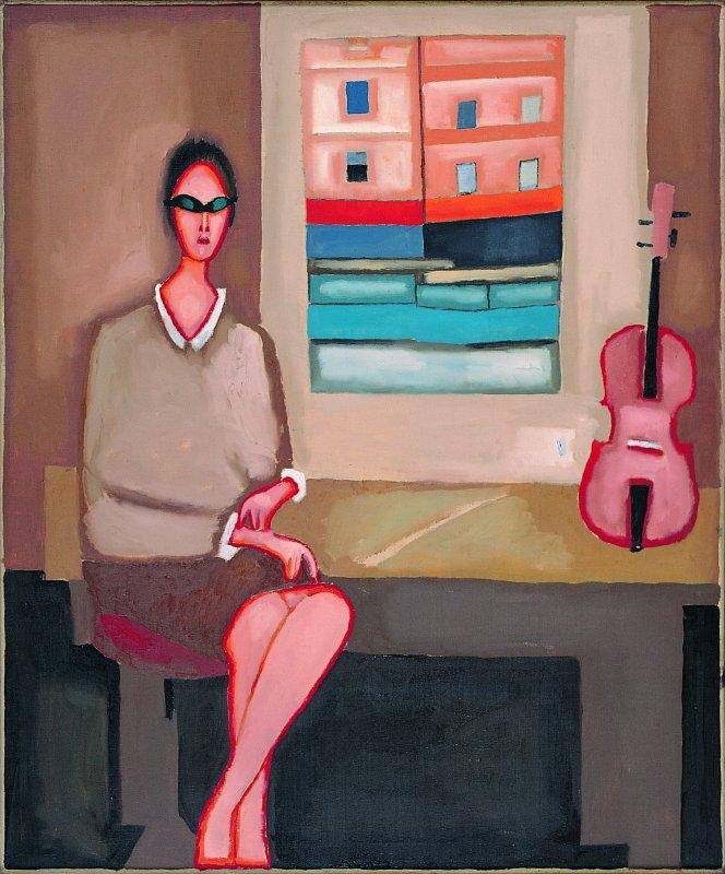 Portret skrzypaczki 1966