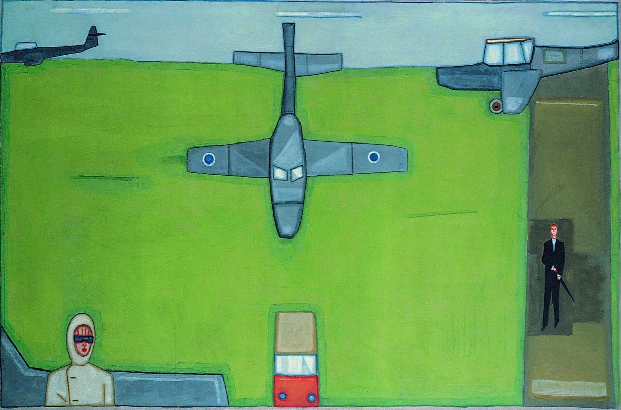 Lotnisko wielkie 1966