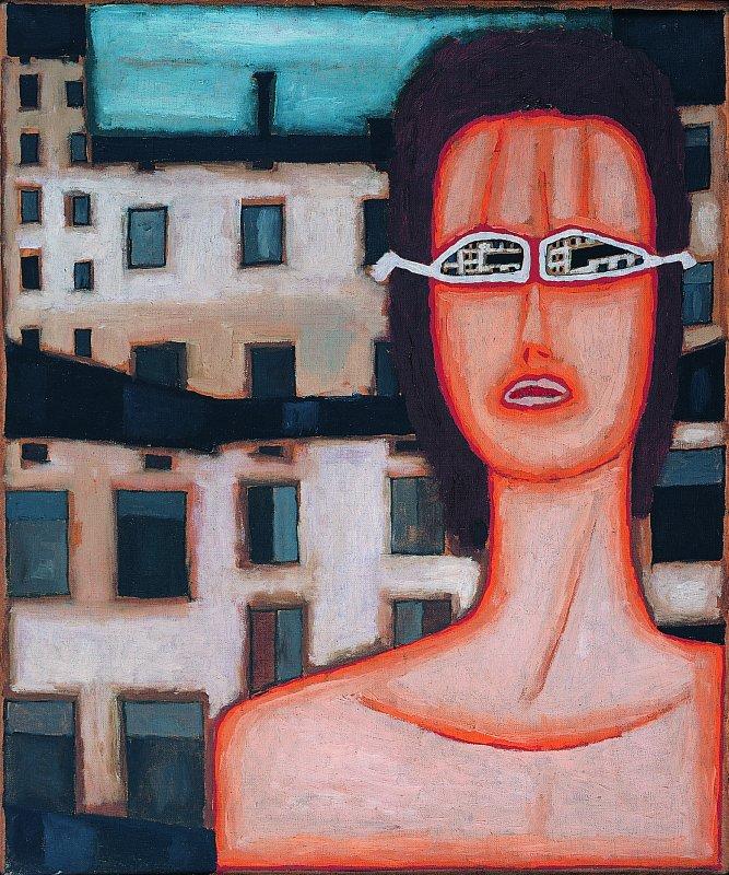 Dziewczyna w okularach 1971