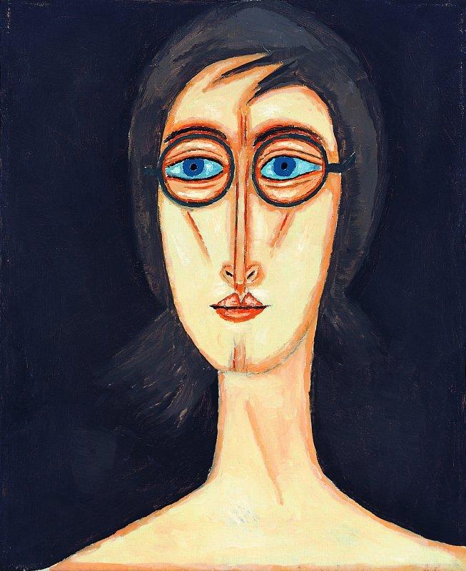 Dziewczyna w okularach 1995