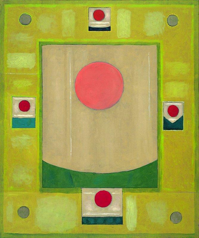 Mandala nieregularna 1996