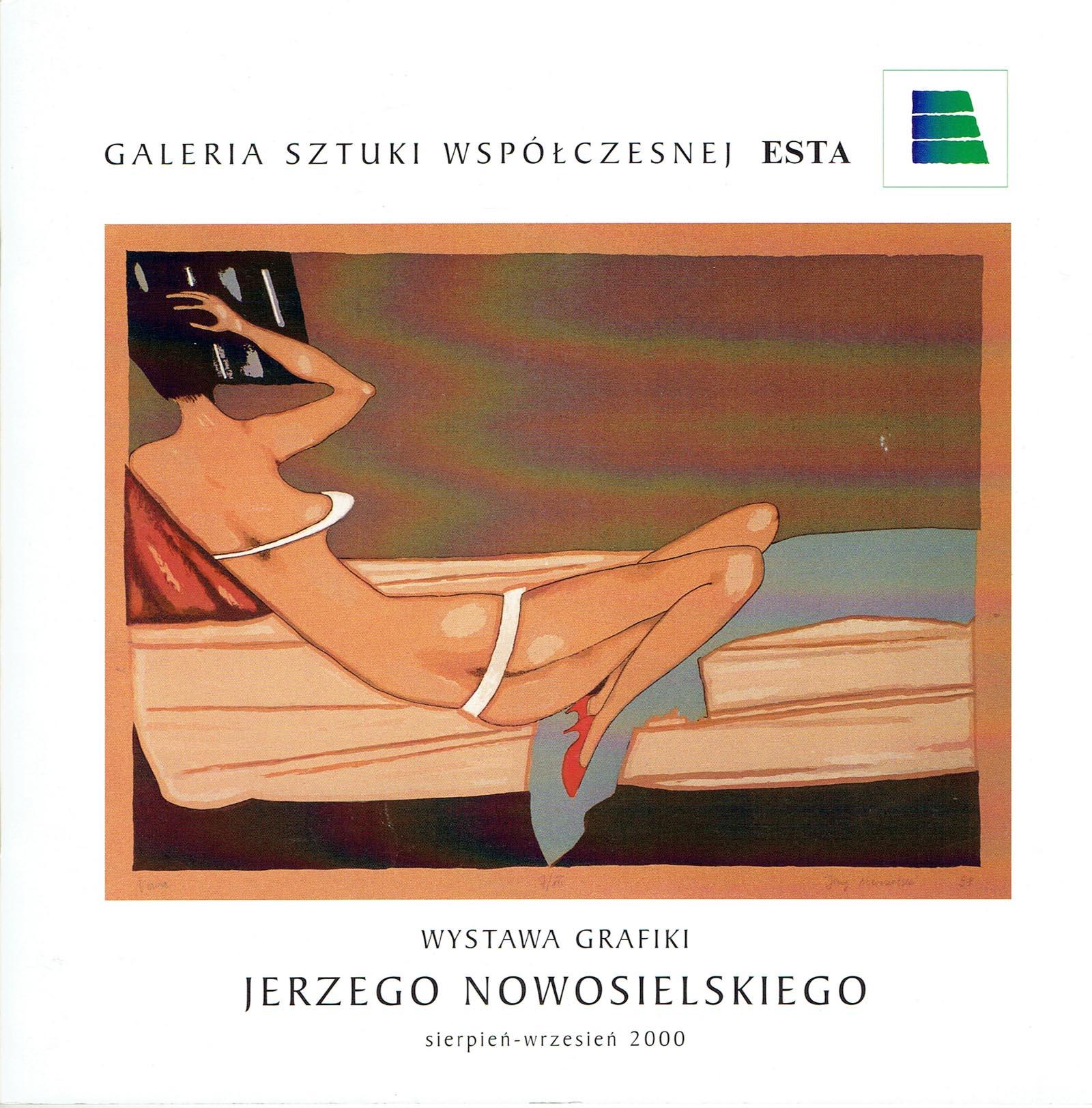 Wystawa grafiki Jerzego Nowosielskiego