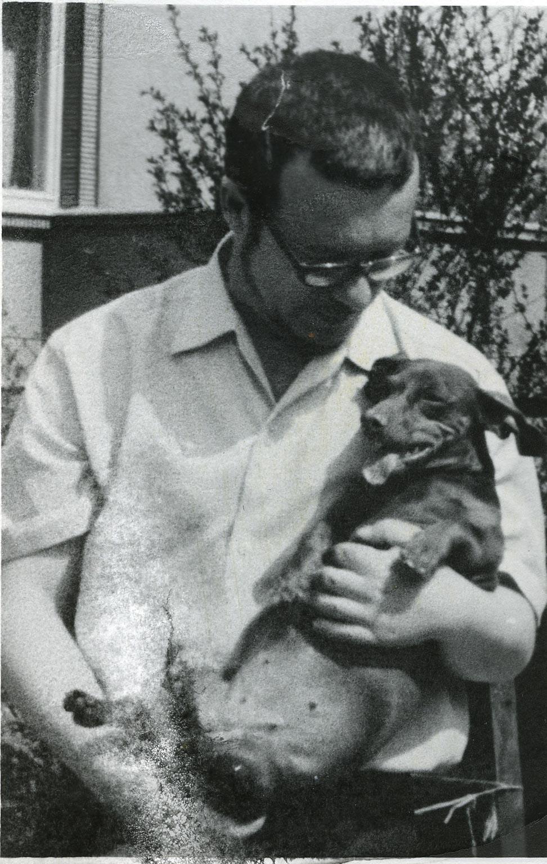Z Magdą, ok. 1970