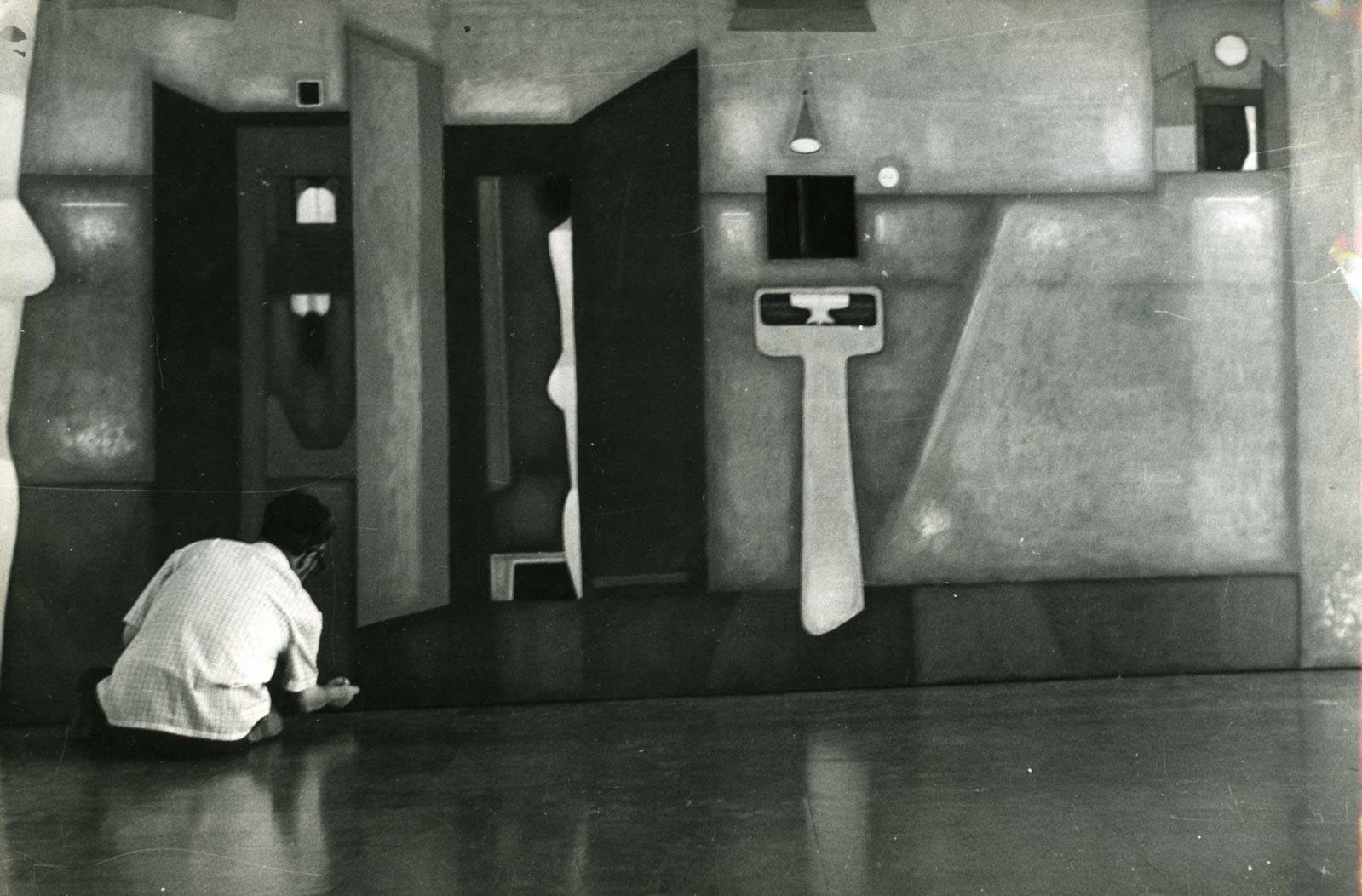 Przy pracy, 1975