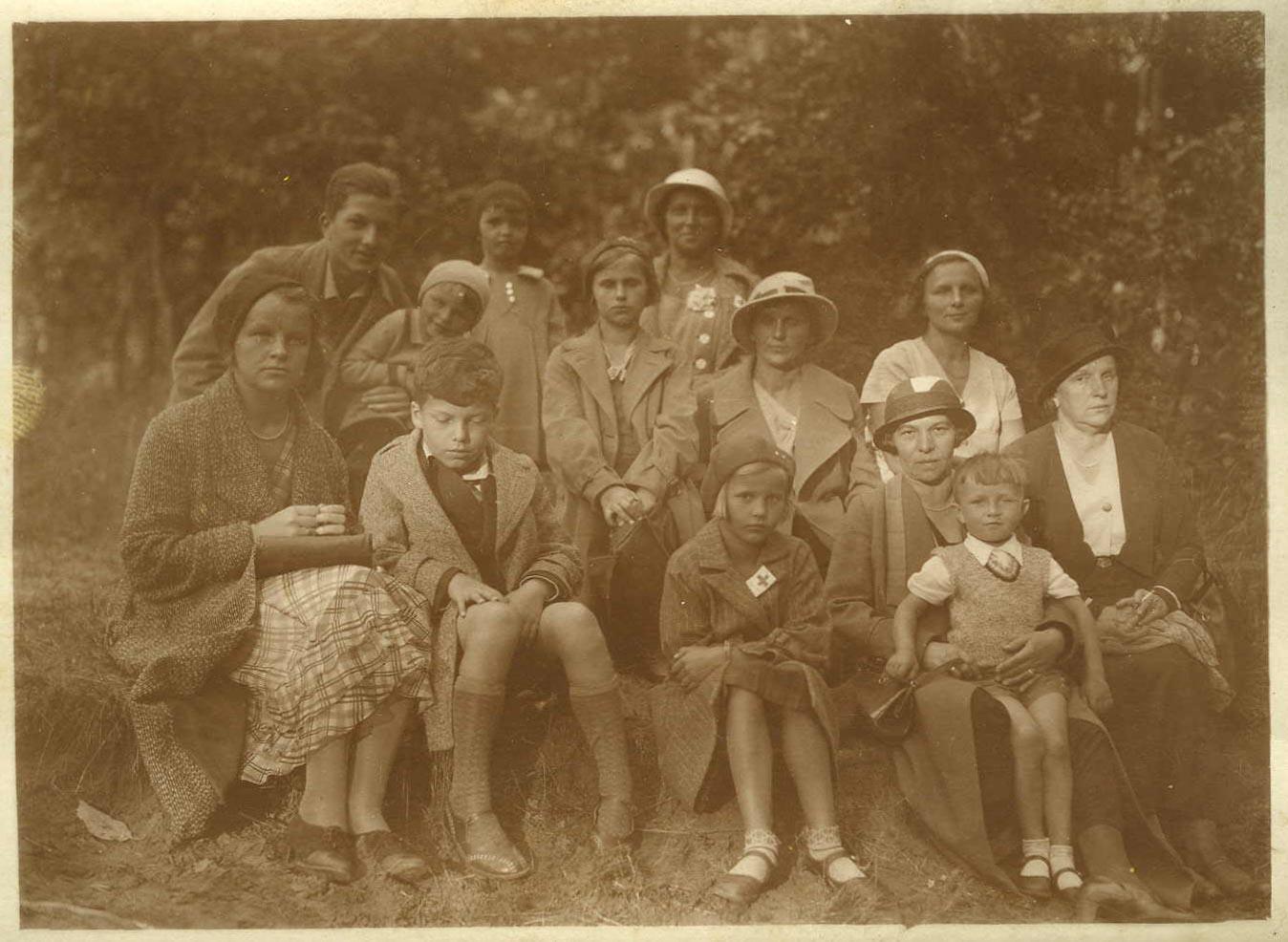 Na wakacjach w Orłowie, ok. 1935