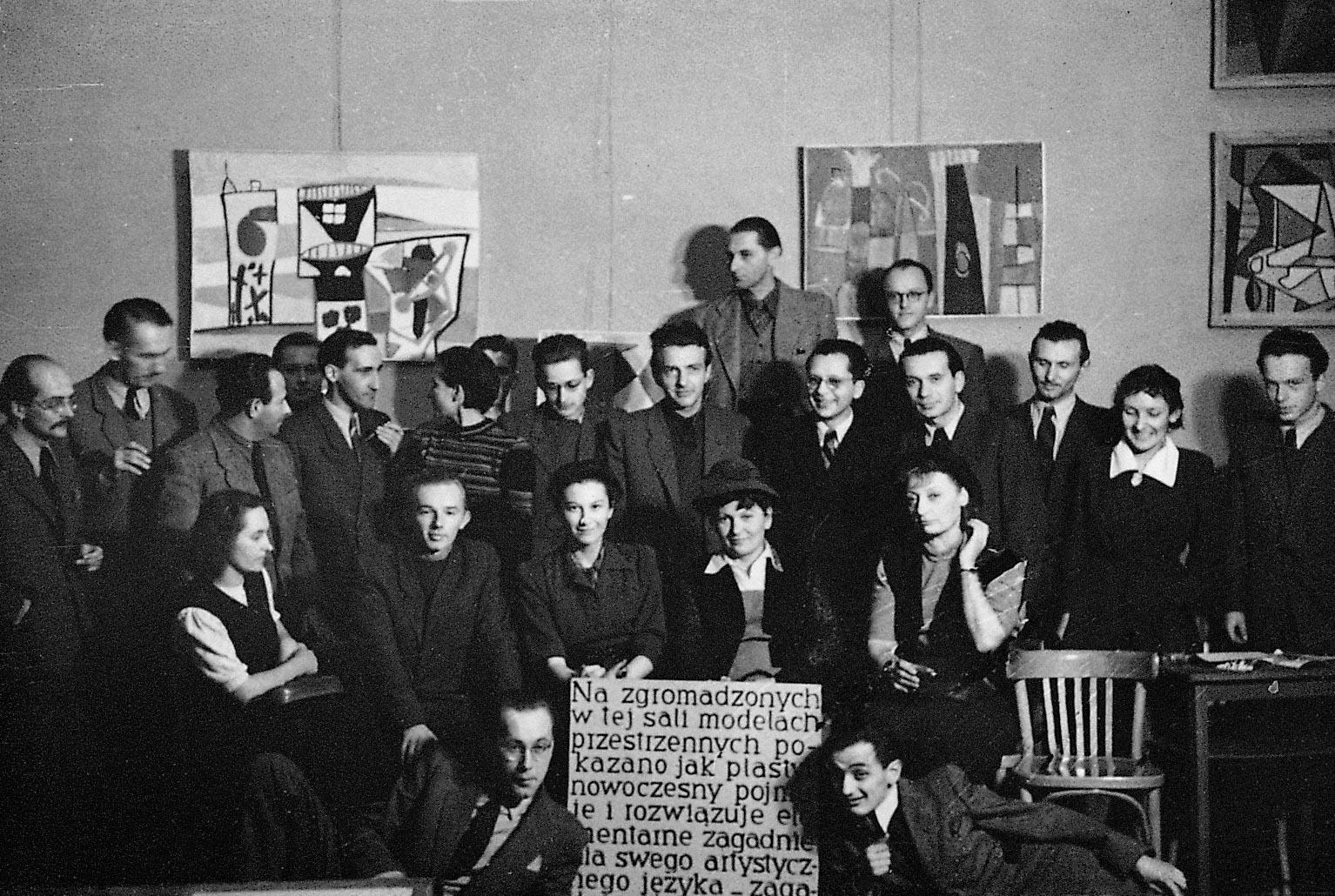 Wystawa Sztuki Nowoczesnej, 1948/1949