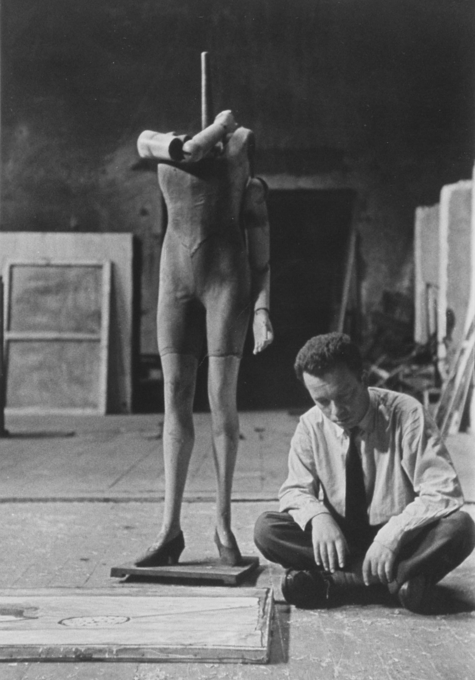 Jerzy Nowosielski, ok. 1958