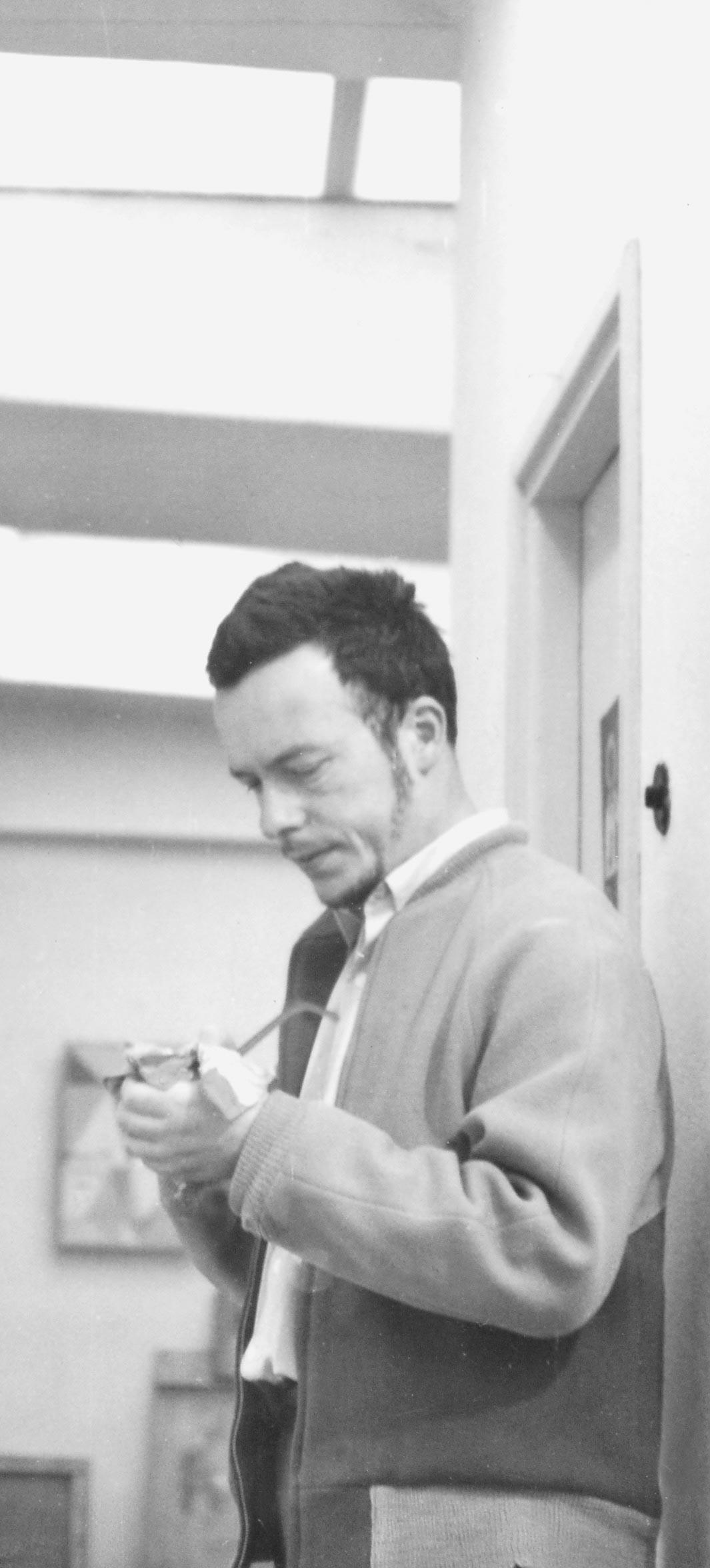 W pracowni, ok. 1960