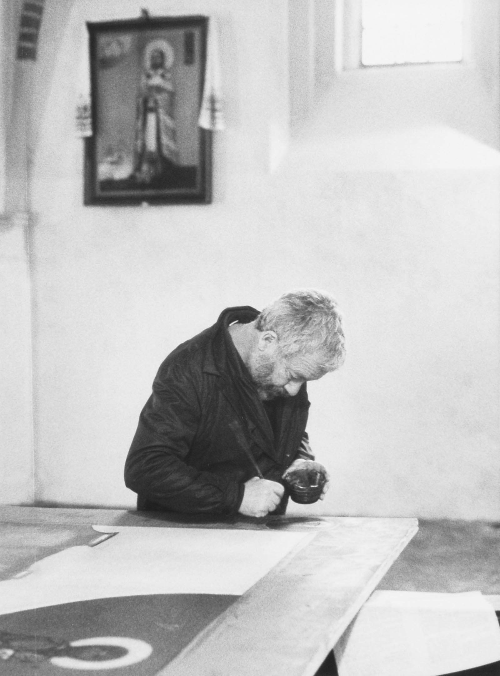 W cerkwi, 1989