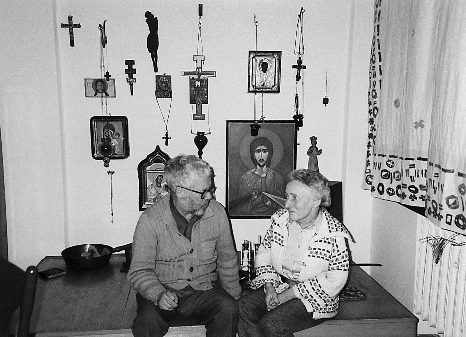 Zofia i Jerzy Nowosielscy, II poł. lat 90.