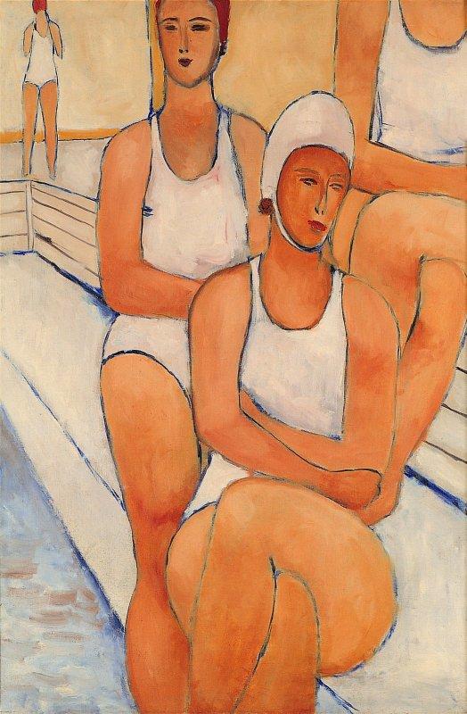 Pływaczki 1953